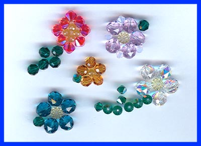 4mm Swarovski Faceted Rounds