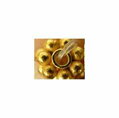 6mm 24Kt. Gold Over Copper Daisy Spacer gcbk452-6