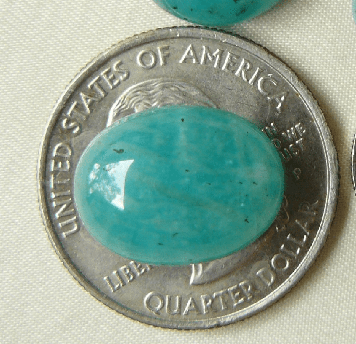 Amazonite Cabochons Sale 12x16mm matching set