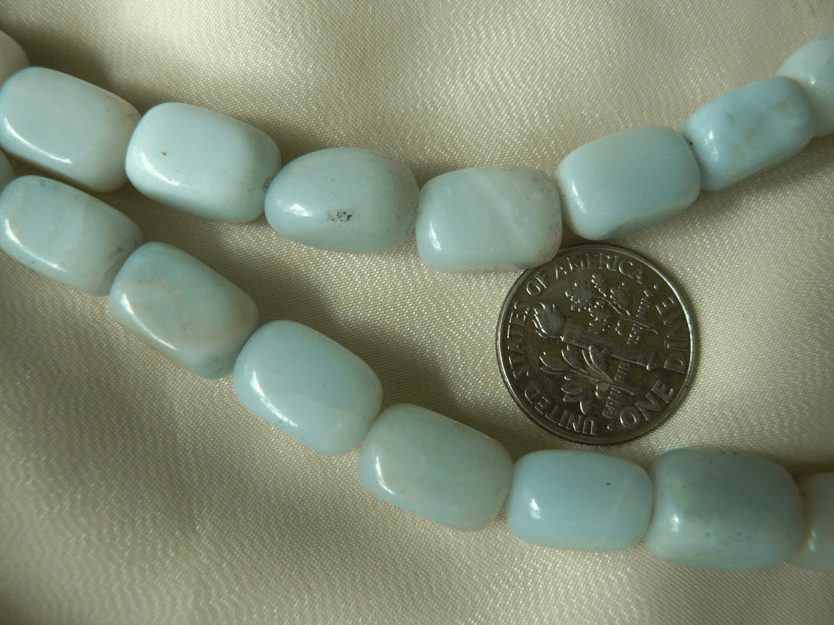 "Amazonite Cube beads 16"" strands"