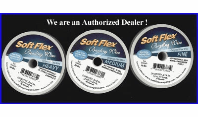 Authorized Dealer of Soft Flex and Beadalon Beading Wire