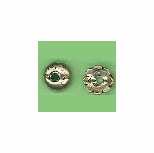 Bali Style Bead Caps - 3mm - 2 Pieces - Sterling Silver<br>BC25