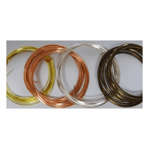 Bead Smith Square Plated Wire