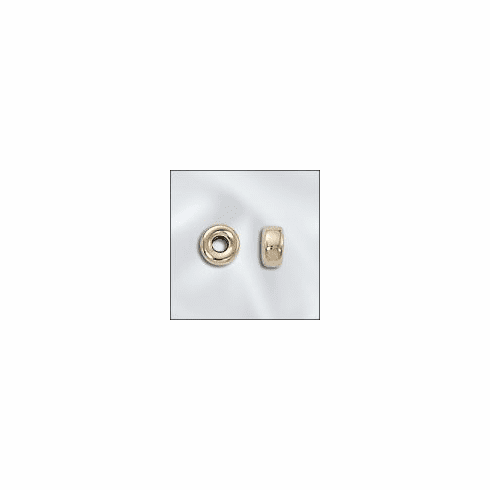 Beads - 5.2MM - 10 or 25 Beads - Gold Filled GF-30105