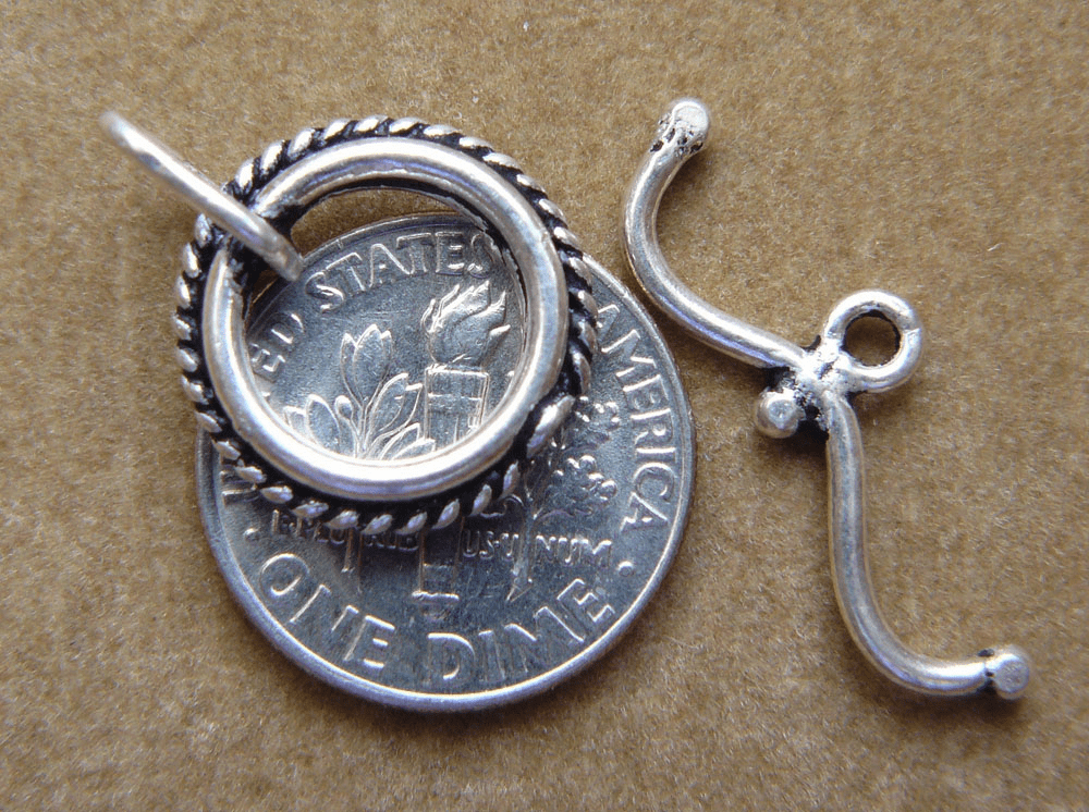 Bicycle handle bar Toggle Sterling Silver