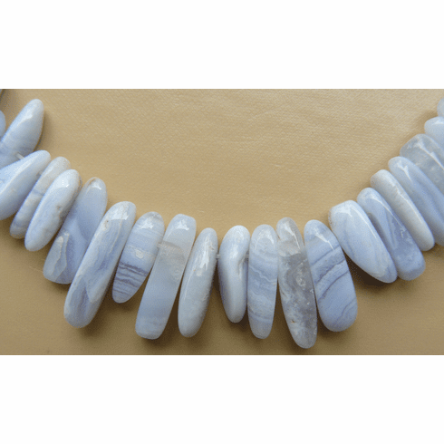 Blue Lace Agate - Large Chips
