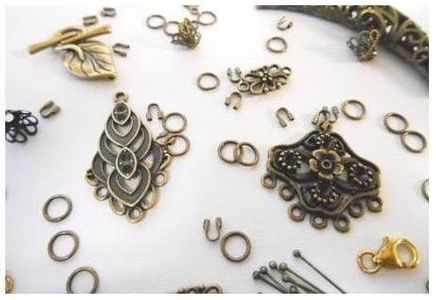 Beads and Findings - Antique Brass