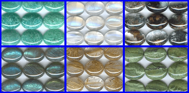 Calibrated Cabochons