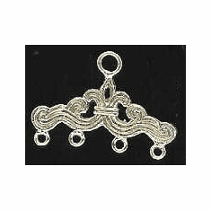 Chandelier Earring Finding - 10 Pieces - Sterling Silver<br>SS-13