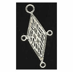 Chandelier Earring Finding -2 Pieces - Sterling Silver<br>SS-14