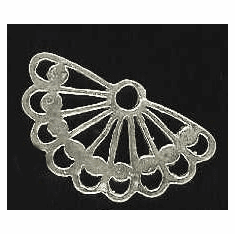 Chandelier Earring Finding - 4 Pieces - Sterling Silver<br>SS-11