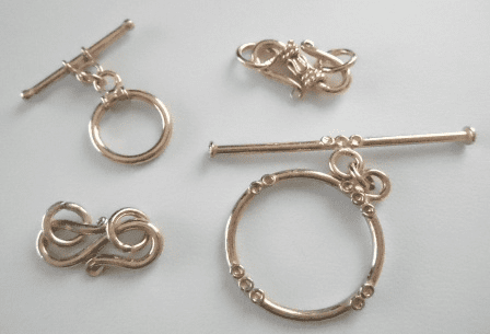 Clasps - Rose Gold Over Copper