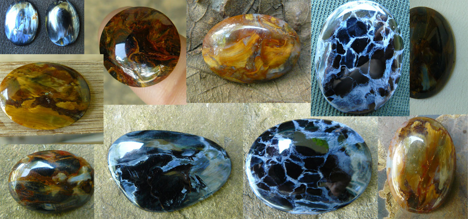 Click here for Ebay prices on Pietersite cabochons