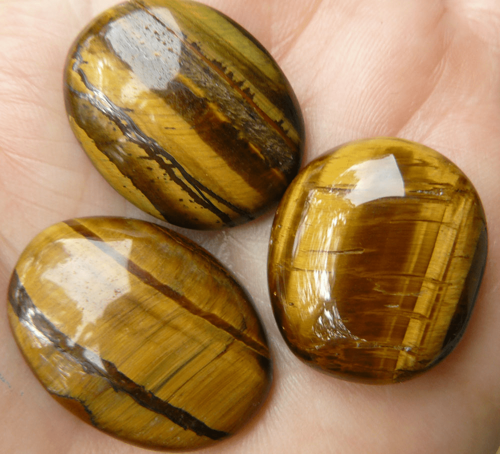 CLICK HERE for TigerEye Cabochon Deals