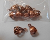 Copper Bails 10 pieces 100% Copper