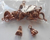 Copper Bails 14 piece pack smaller designer design 100% Copper