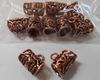 Copper bails tube design multi pack 10 Pieces 100% Copper