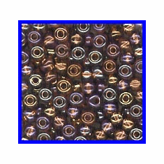 Copper Lined Light Amethyst 6/0 Seed Beads