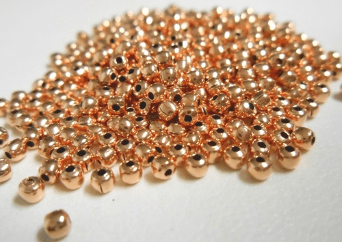 Copper Smooth Bead   CO69