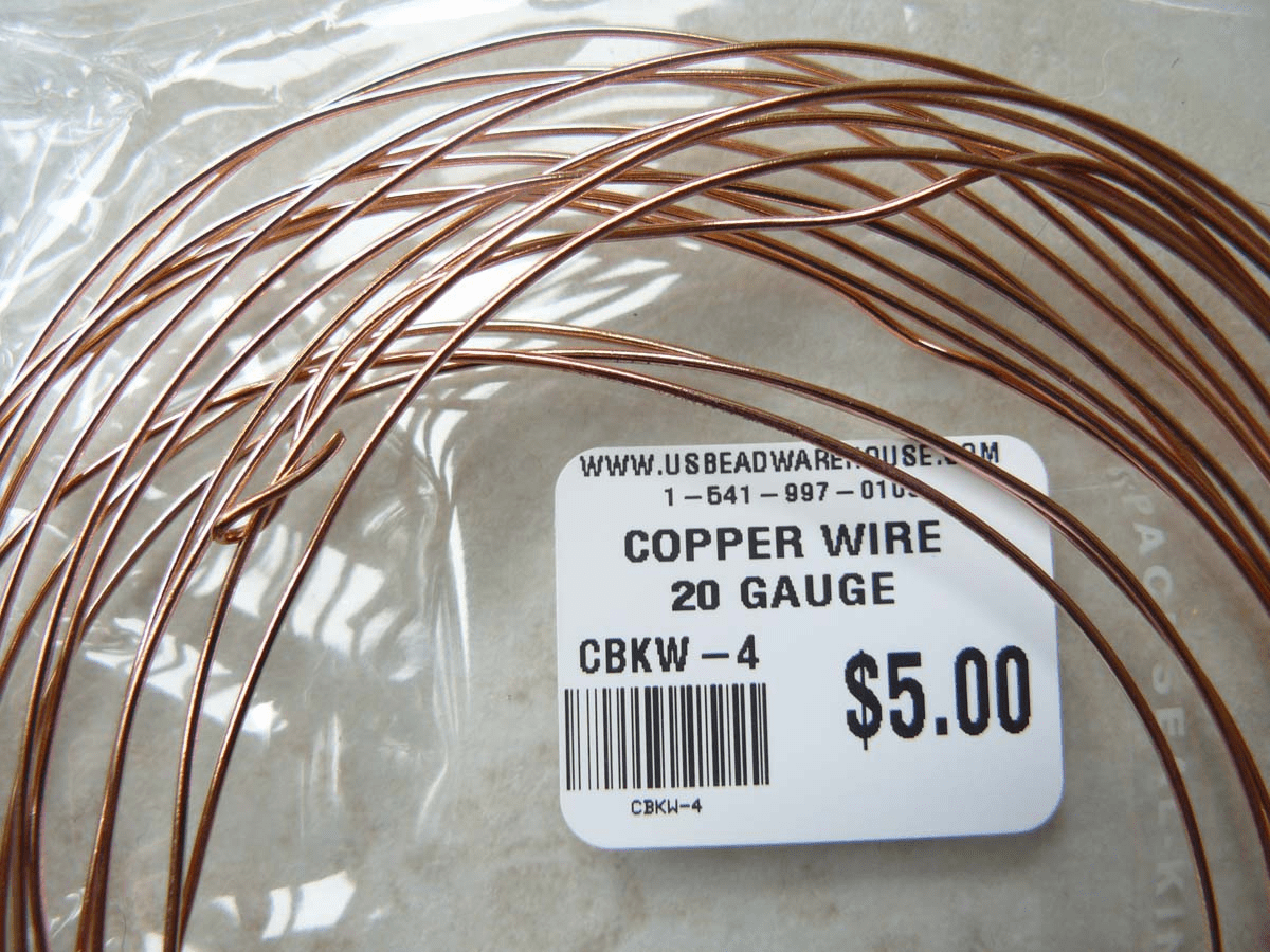 Copper wire 20 Gauge one Oz Rolls approximately 16 Feet
