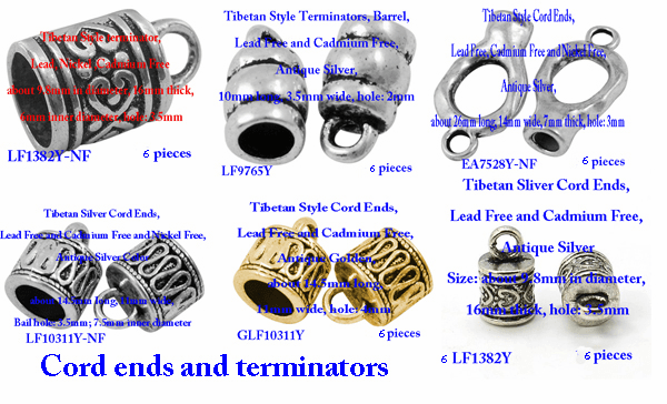 Cord ends and terminators
