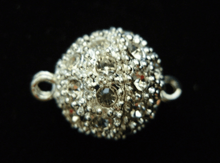 Crystal Studded Magnetic Clasp