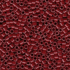 Dyed Opaque Cranberry