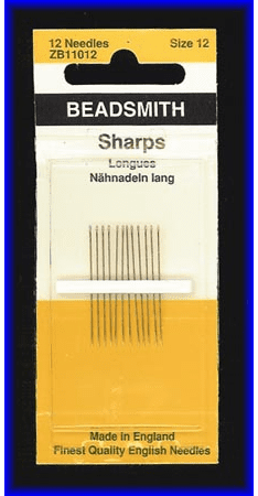 -English Beading Needles- Size 12