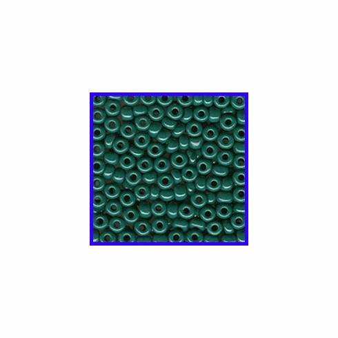 Forest Green 6/0 Seed Beads