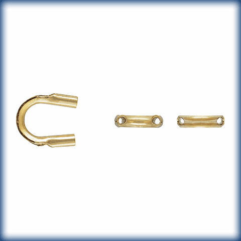 Gold filled Cable Thimble Wire guard 10 pieces 14kt-GF