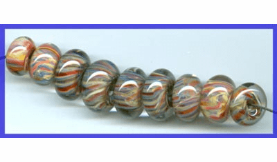 Hand Blown Glass Beads and Bead Sets
