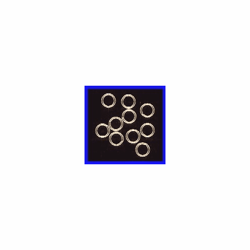 Jump Ring 5mm Closed  Gold Filled 10 pc. or 25 pc.