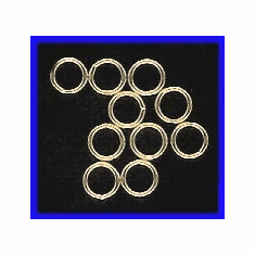 Jump Ring 6mm Closed Gold Filled GF-JR36-6C-10