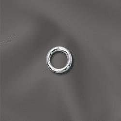 """Jump Rings 4mm Open Sterling Silver 25 pieces NEW """"CLICK AND LOCK"""""""