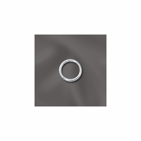 """Jump Rings Sterling Silver Open 6mm 25 pack NEW """"CLICK AND LOCK"""""""