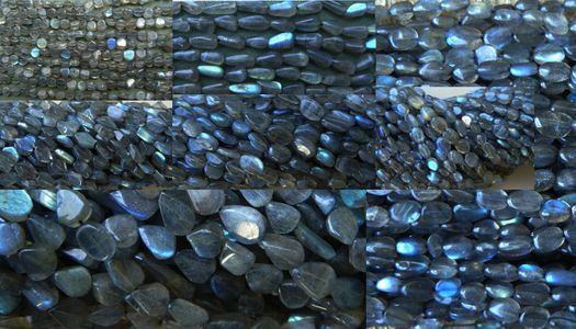 Labradorite Beads Oval, Round, Faceted , Rondelles and more