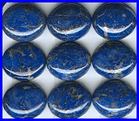 Lapis 12x14mm Oval Cabochon