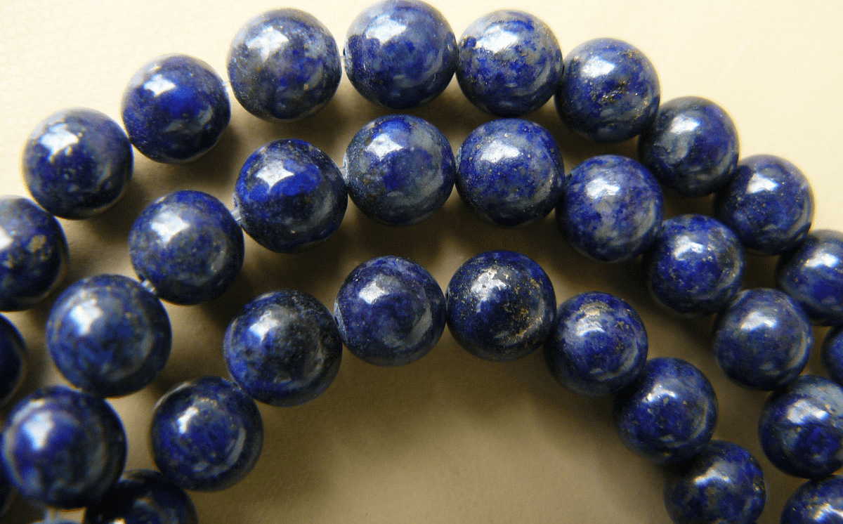 """Lapis premium AAA color Round Beads 6mm 15"""" strands"""