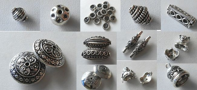 Specialty Beads - Sterling Silver