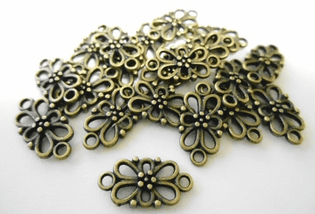 Link - 15x8mm - 20 Pieces - Brass<br>MLF5094Y-NF