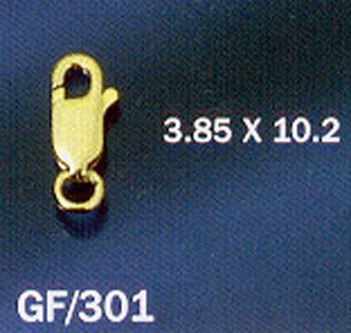 Lobster Claw Clasp 3.85x10.2mm 14 Kt. Gold Filled 1 piece