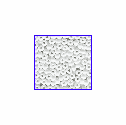 Luster White 6/0 Seed Beads