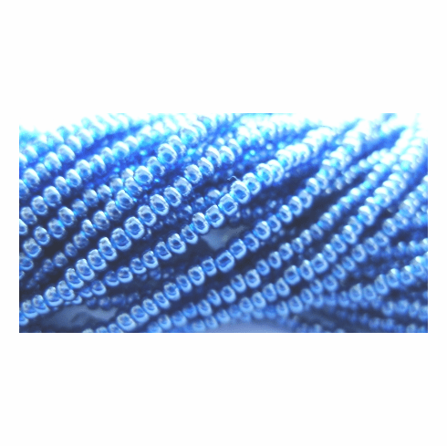 Lustered Montana Blue 10/0 Seed Bead