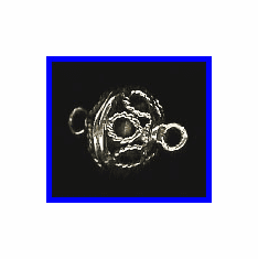 Magnetic Clasp - 13mm - 1 Clasp - Sterling Silver<br>MC2576