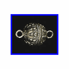 Magnetic Clasp - 14mm - 1 Clasp - Sterling Silver<br>MC2577