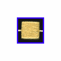 Mat Bead - 12x5.5mm - Gold Plated Silver<br>ORSB-1923