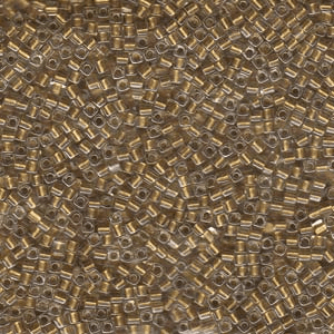 Metallic Gold Lined Crystal
