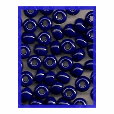 Navy Blue 6/0 Seed Beads