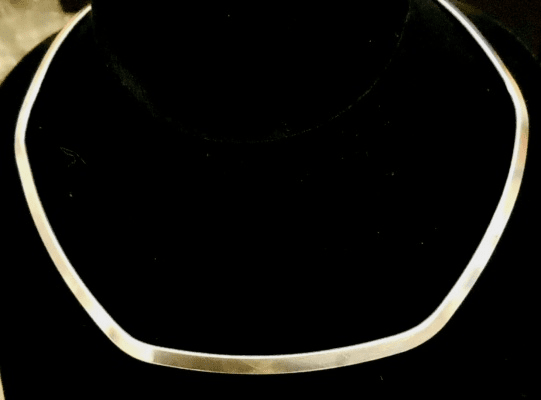 "Neck Collar - 5""x5.5"" - .999 Silver Over Copper<br>NC03"