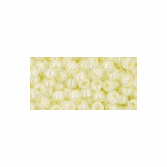 Opaque Lustered Pale Yellow<br>11R142